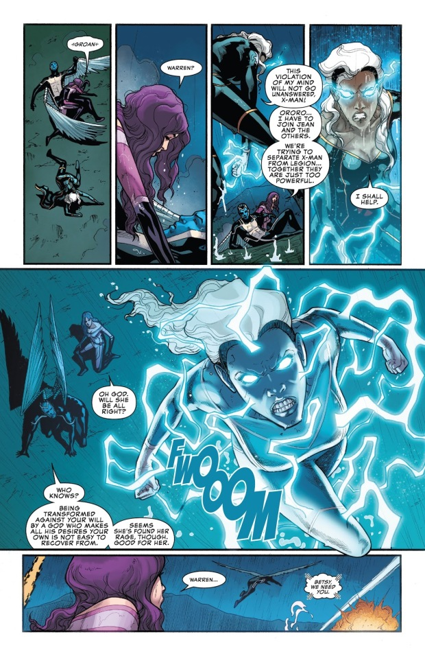 Psylocke VS Storm (X-Men Disassembled)