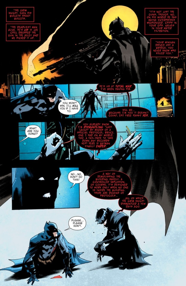 The Batman Who Laughs Describes The Grim Knight