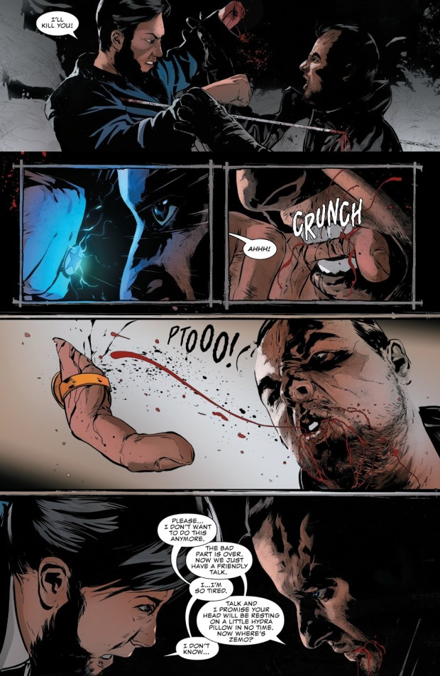 the punisher vs garron winslow