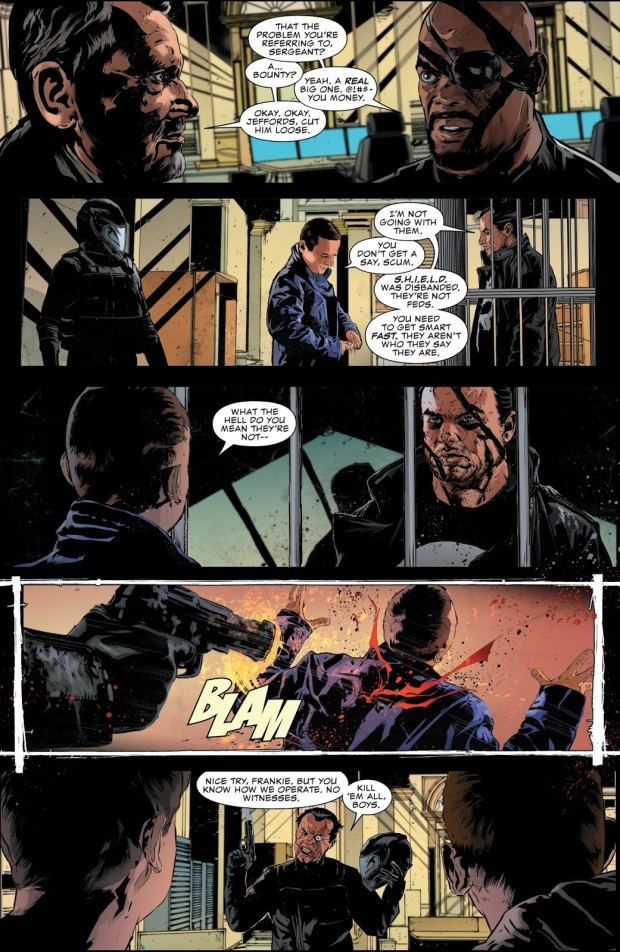 The Punisher VS Jigsaw And The Chameleon