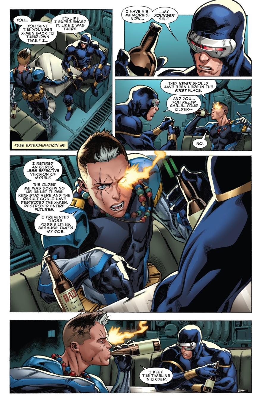 Why Kid Cable Brought Cyclops Back To Life