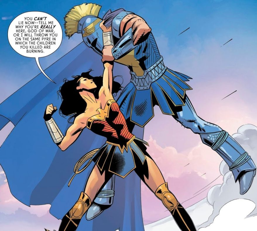 Wonder Woman And Ares (Wonder Woman Vol. 5 #59)