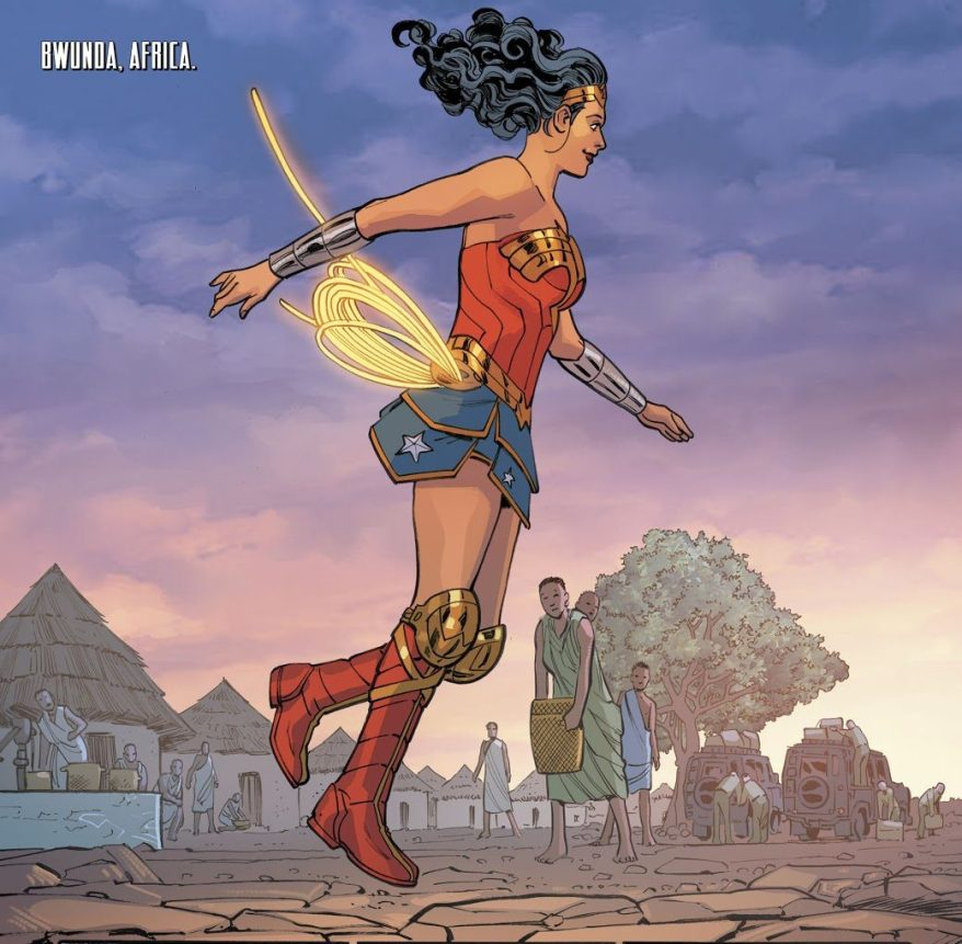 wonder woman vol. 5 #18