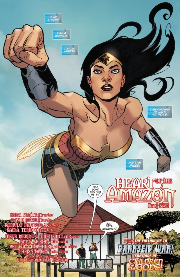 wonder woman vol. 5 #30