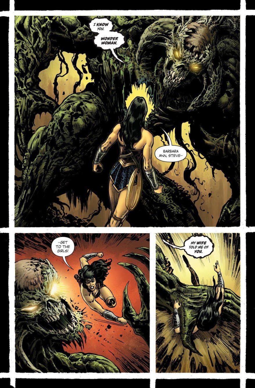 Wonder Woman VS Urzkartaga