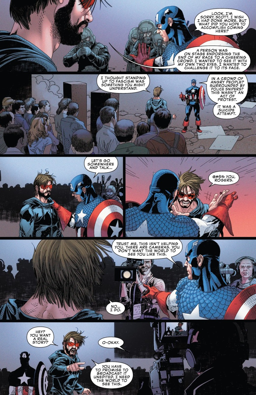 Cyclops Crashes A Mutant Hate Rally