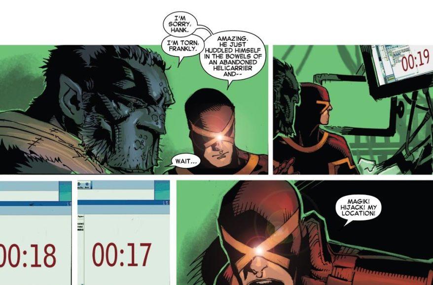 From – Uncanny X-Men Vol. 3 #22