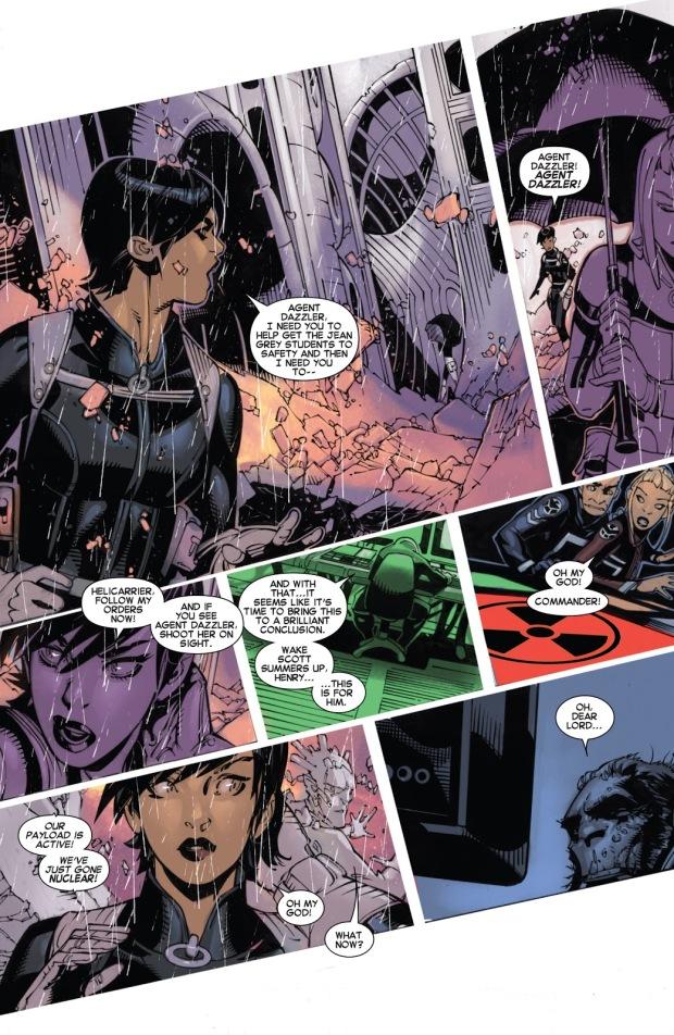 Hijack Saves The X-Men