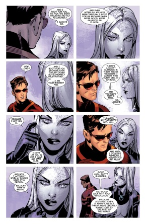 How Much Emma Frost Loves Cyclops