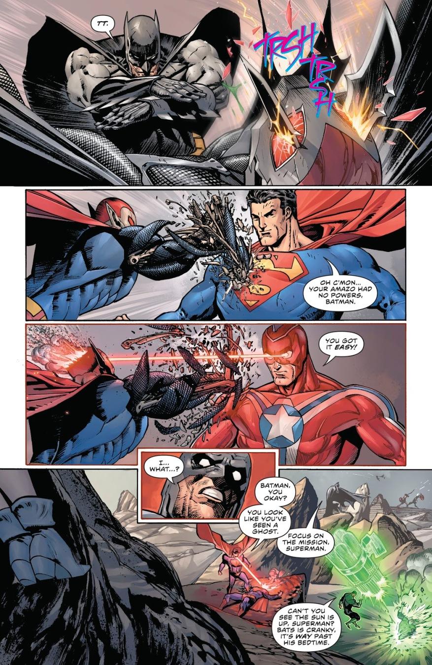 Justice League VS Justice League Of Amazo