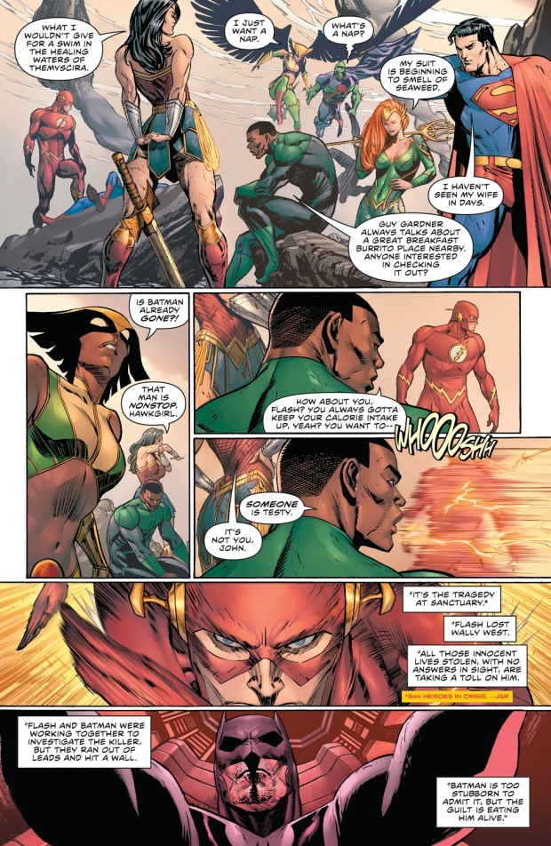 Justice League VS Justice League Of Amazo