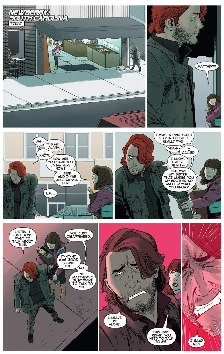 Matthew Malloy's Mutant Powers Activates