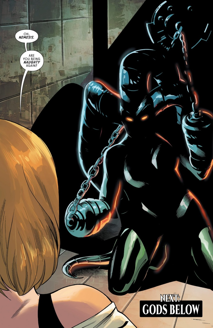 Nemesis Goddess Of Grudges (Wonder Woman Vol. 5 #63)