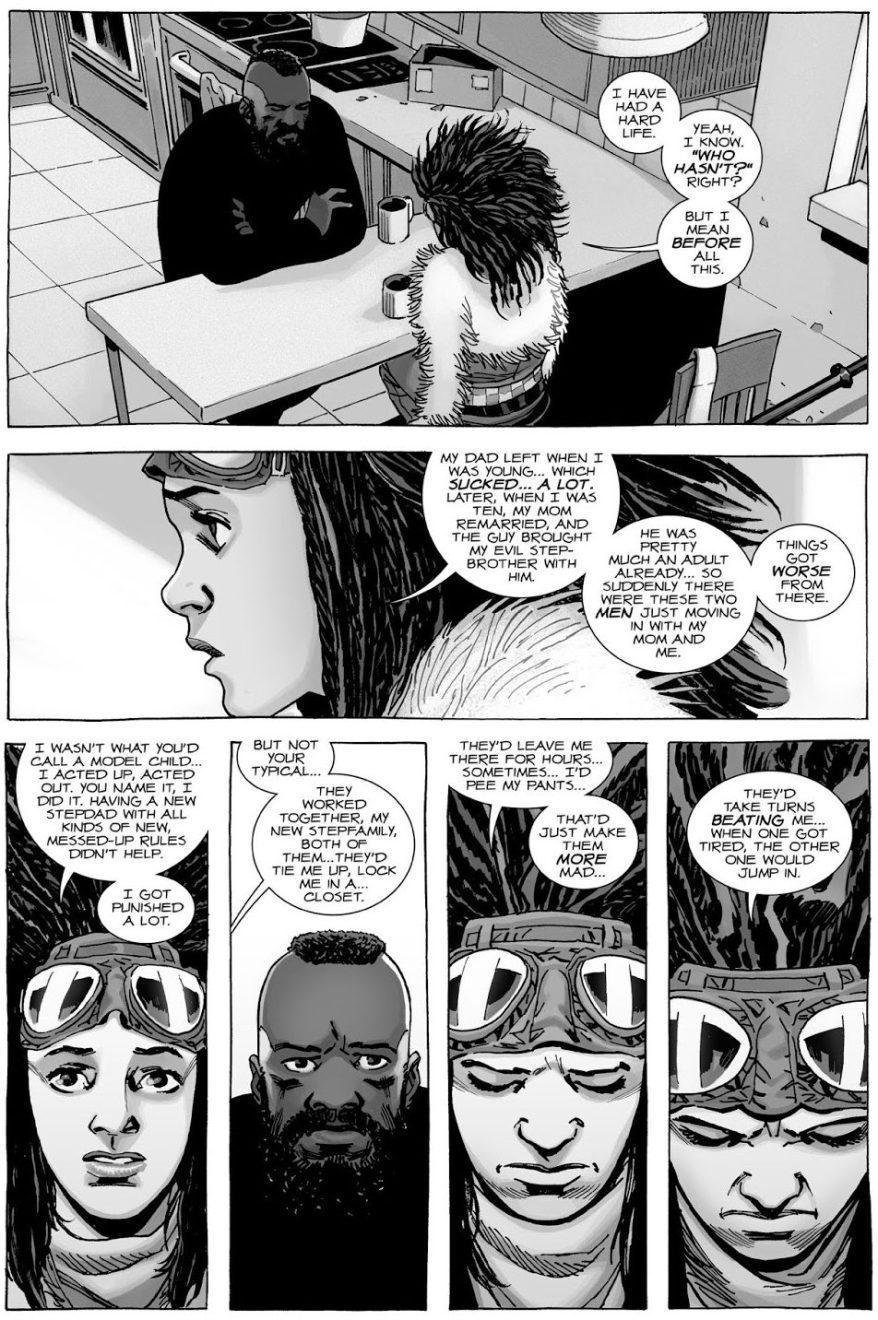 Princess' Tragic Background (The Walking Dead)