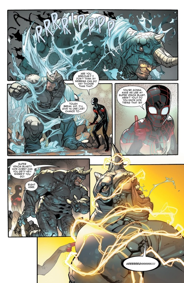 Spider-Man Miles Morales VS The Rhino