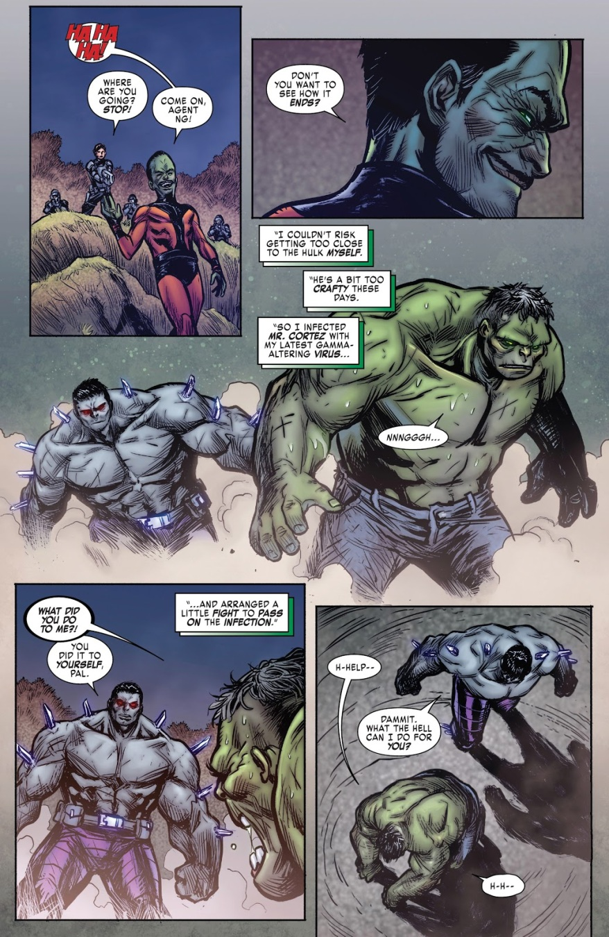 The Hulk Meets Hulkverine
