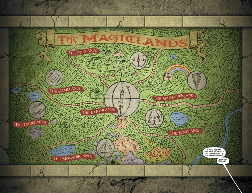The Magiclands (Shazam! Vol. 3 #3)