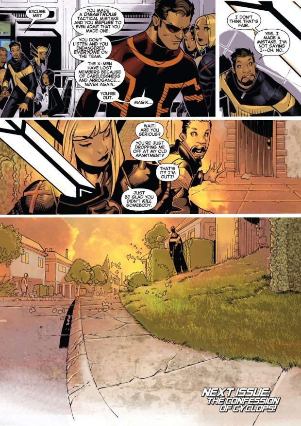 From – Uncanny X-Men Vol. 3 #19