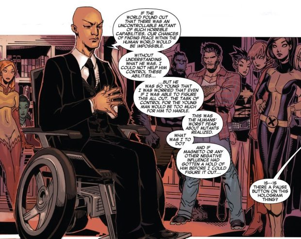 Why Professor X Was Afraid Of Matthew Mallow