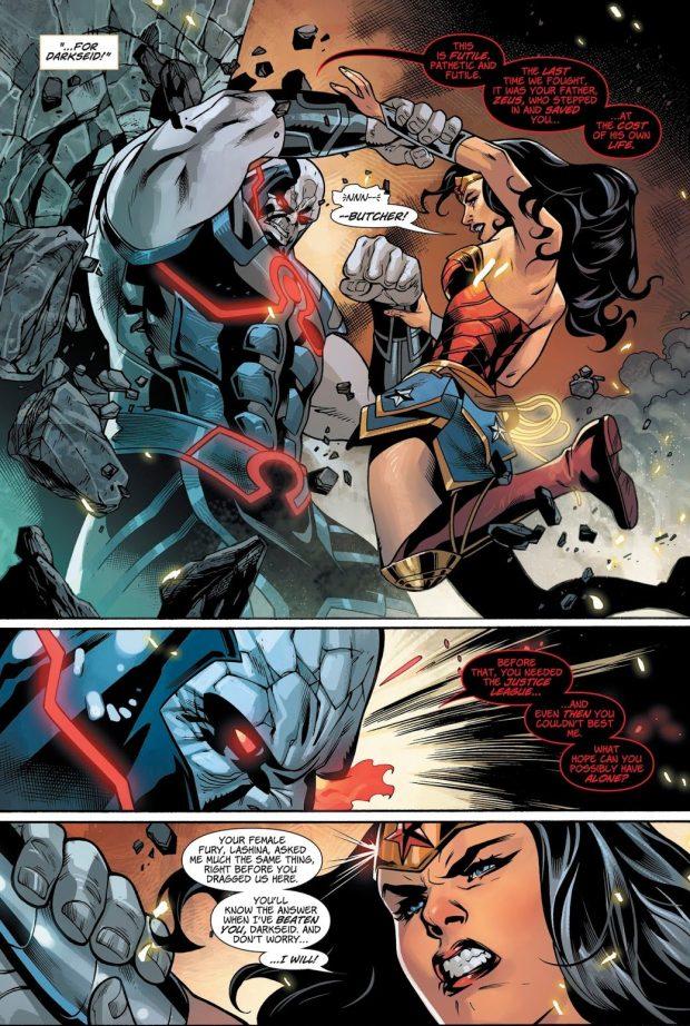 Wonder Woman VS Darkseid (Wonder Woman Vol. 5 #44)