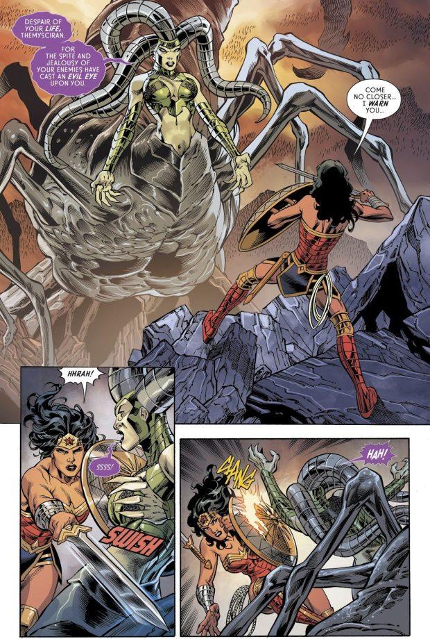 Wonder Woman VS Nemesis (Rebirth)