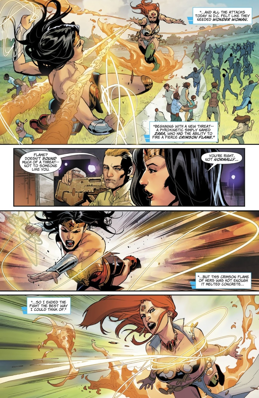 Wonder Woman VS Zara (Rebirth)