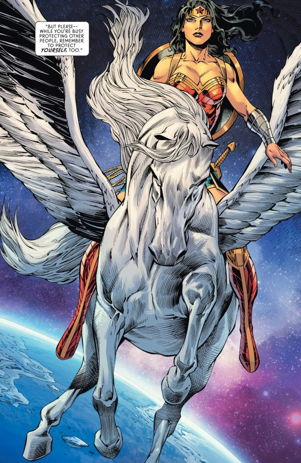 Wonder Woman With Cadmus (Wonder Woman Vol. 5 #64)