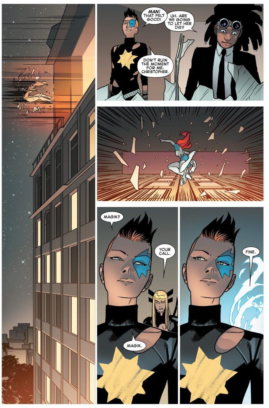 Dazzler Gets Her Revenger On Mystique