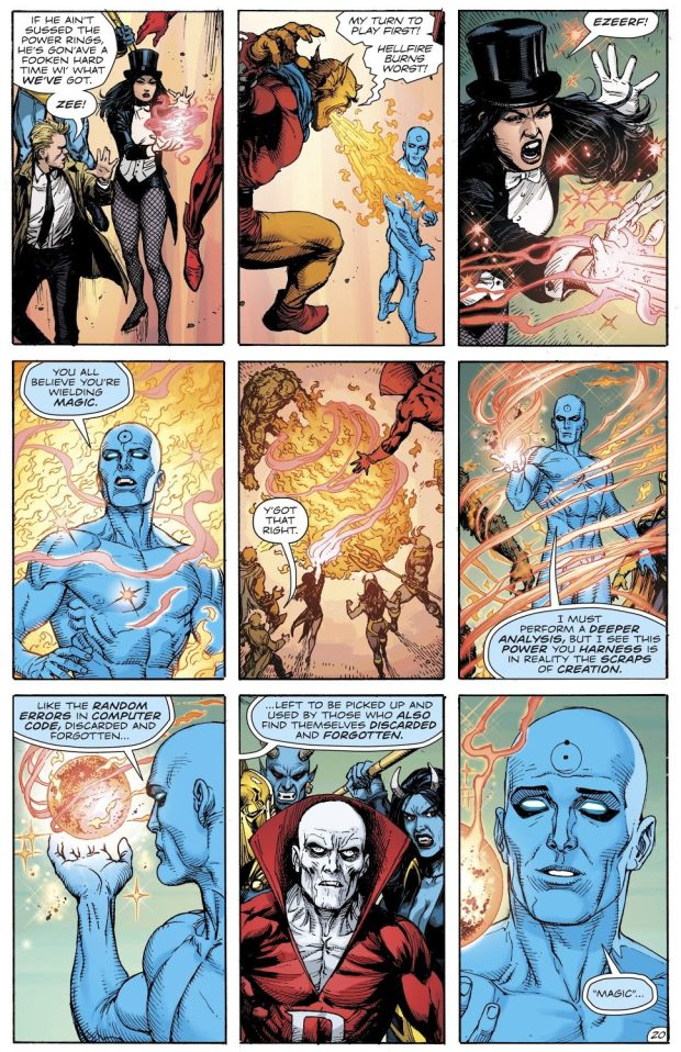 Doctor Manhattan Is Immune To Magic
