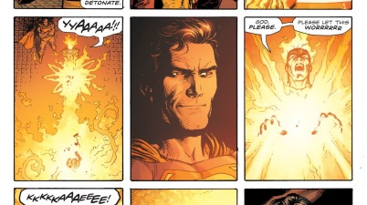 Firestorm Cures A Kid He Turned Into Salt