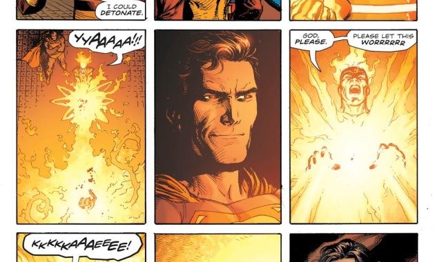 Firestorm Cures A Kid He Turned Into Salt