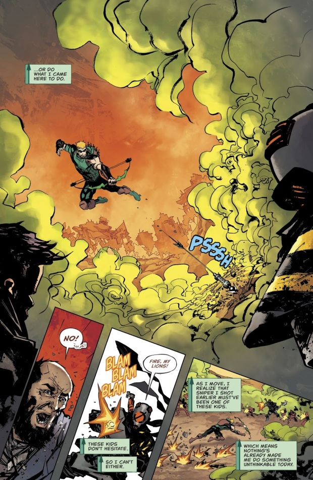 Green Arrow VS Nothing's Child Army
