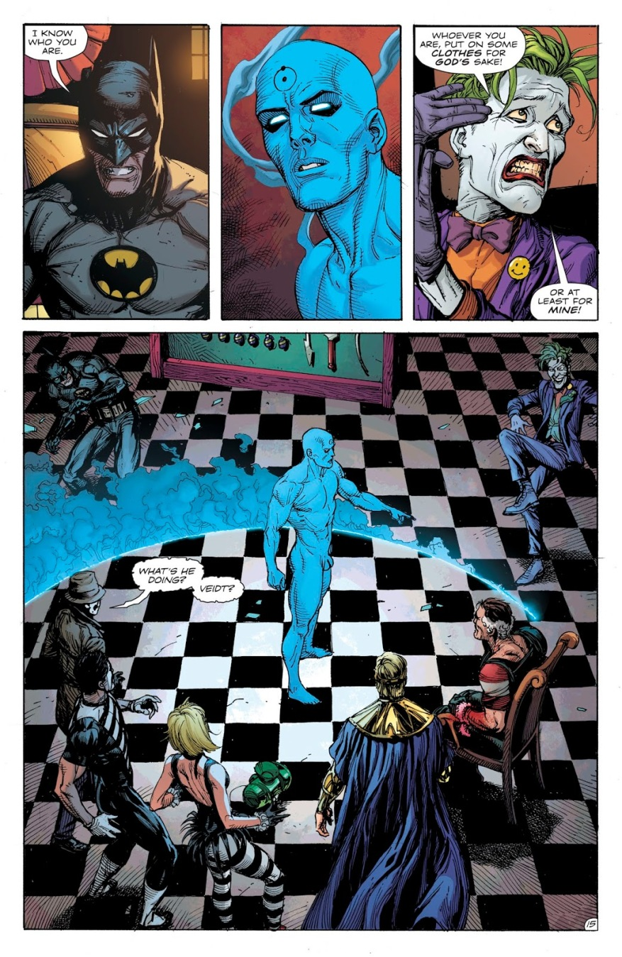 How Ozymandias Summoned Doctor Manhattan (Doomsday Clock)