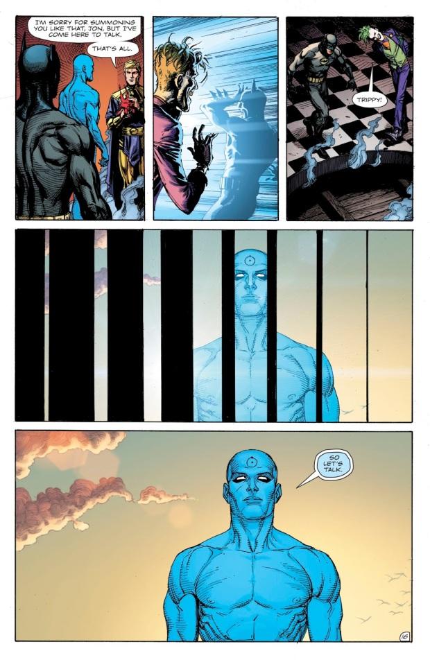 How Ozymandias Summoned Doctor Manhattan (Doomsday Clock)