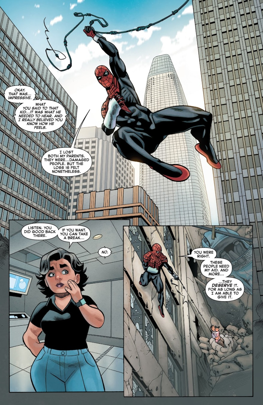 How Superior Spider-Man Consoled An Orphan