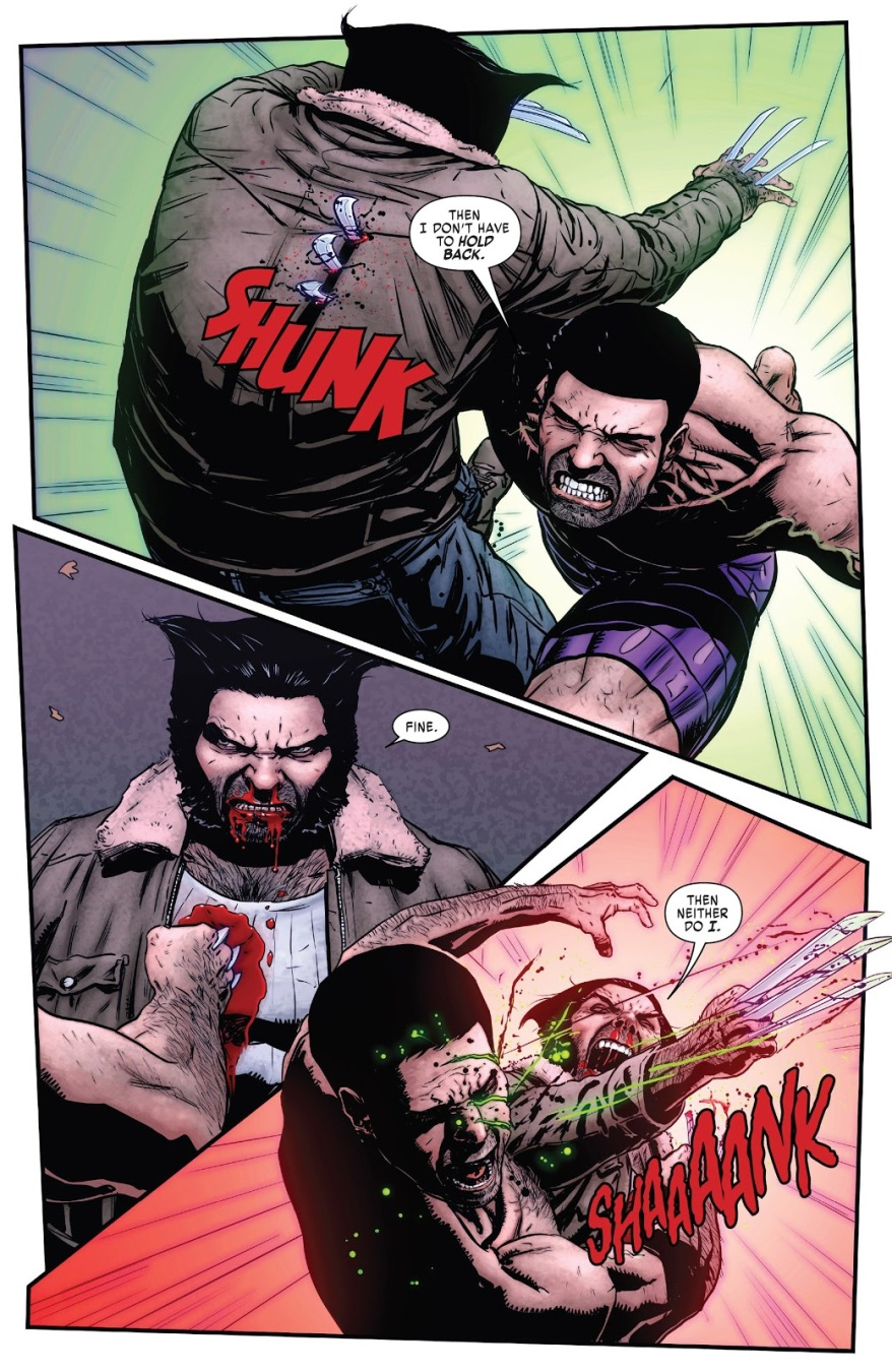 Hulkverine VS Wolverine
