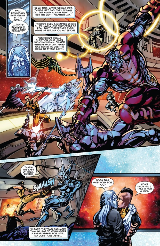 Iceman And Daken As Lovers