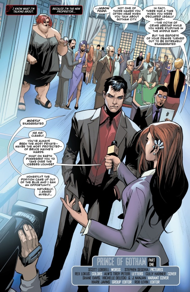 Jason Todd Owns The Iceberg Lounge