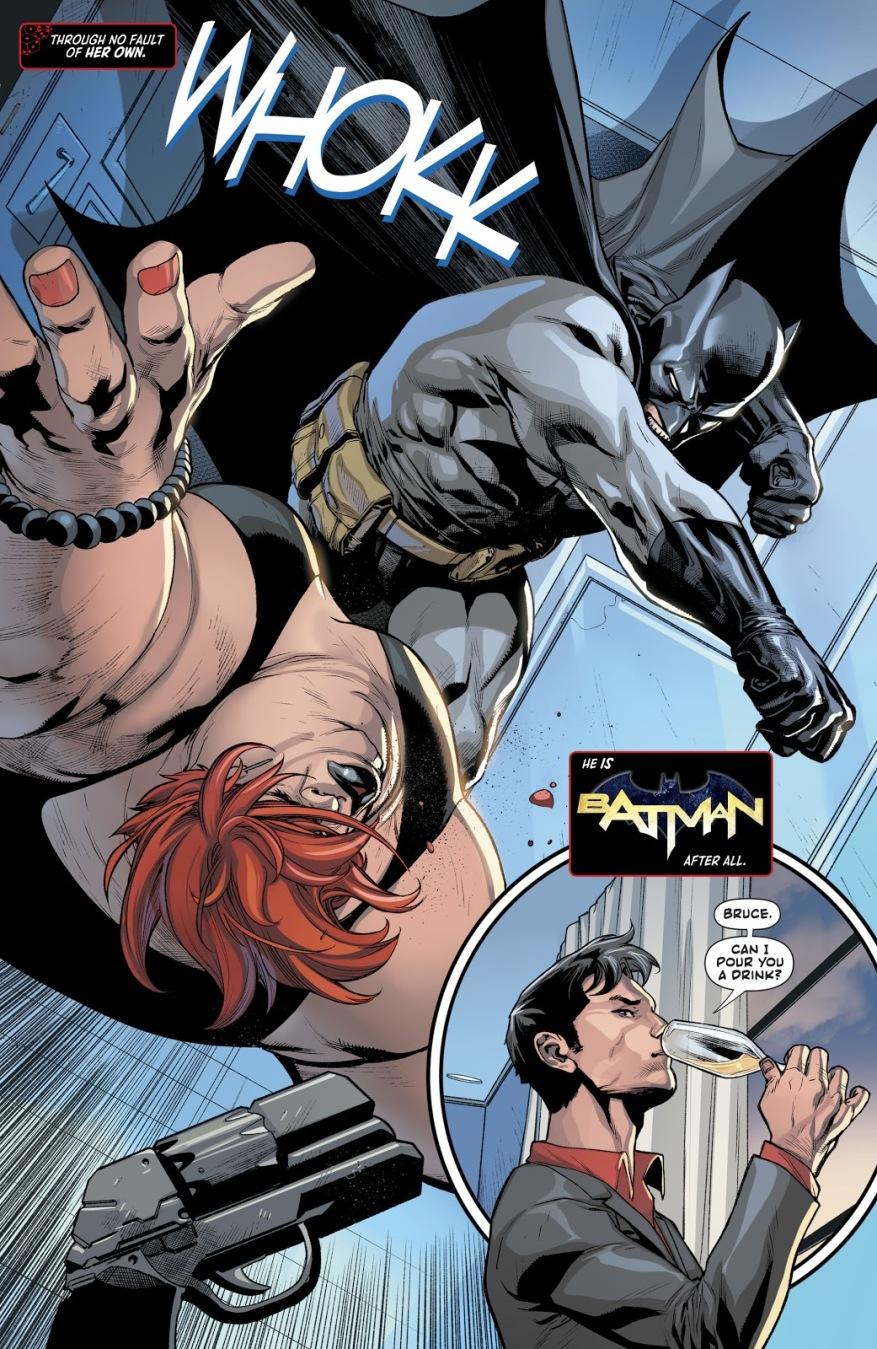 Jason Todd Wins Over Batman