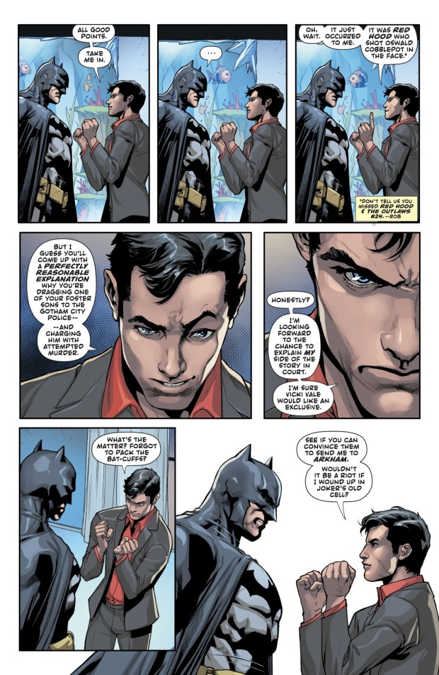 Jason Todd Wins Over Batman