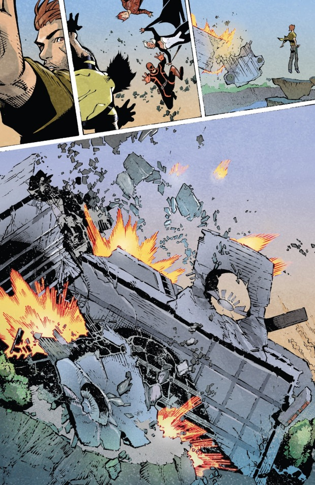 Matthew Malloy Destroys A Helicarrier