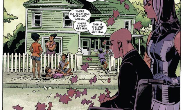 Professor X Erases Matthew Malloy's Existence