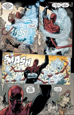 Superior Spider-Man VS Waxman