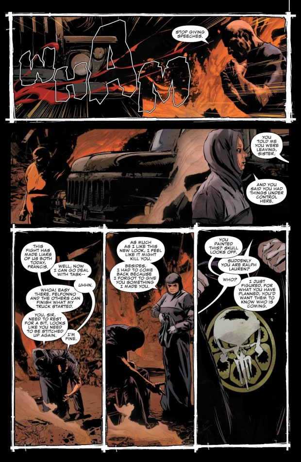 The Punisher VS Taskmaster