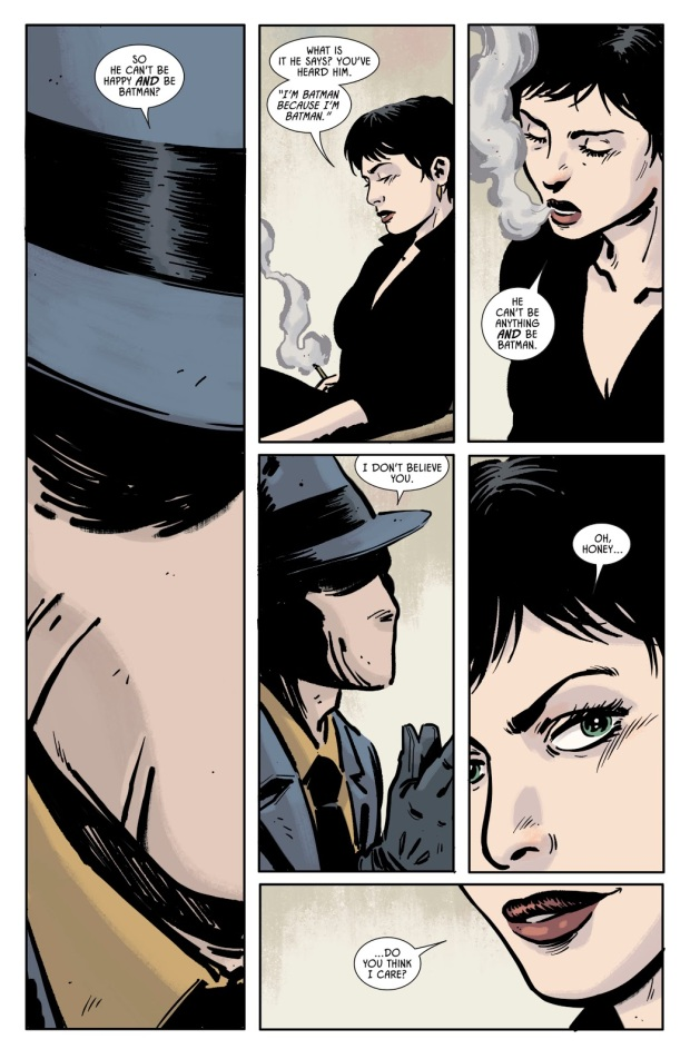 What Catwoman Thinks Of Batman (Rebirth)