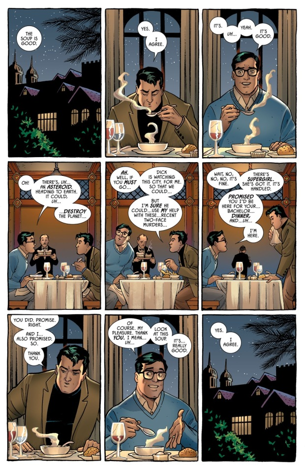 Batman's Bachelor Party With Superman