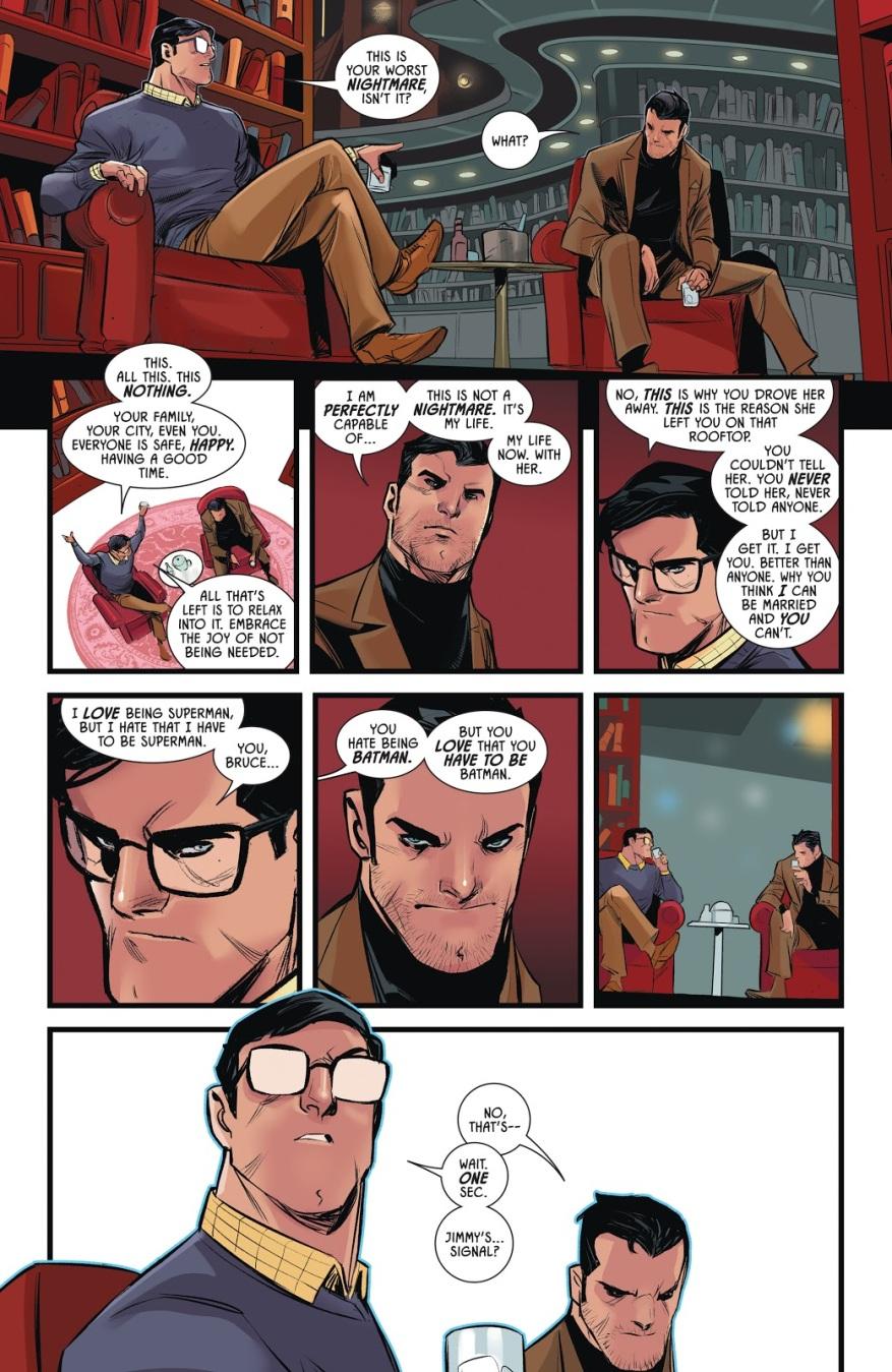 Batman's Bachelor Party With Superman