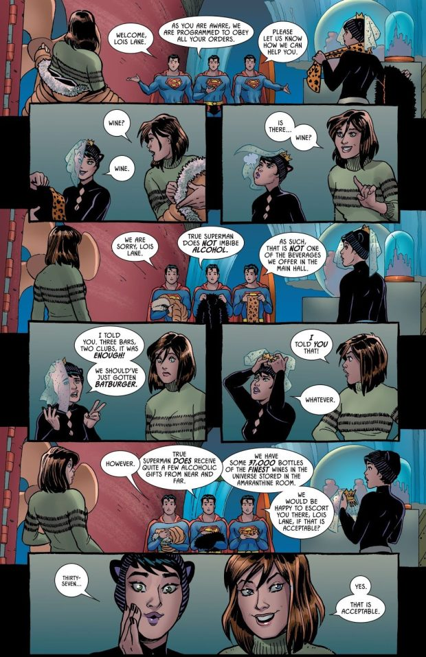 Catwoman's Batchelorette Party With Lois Lane