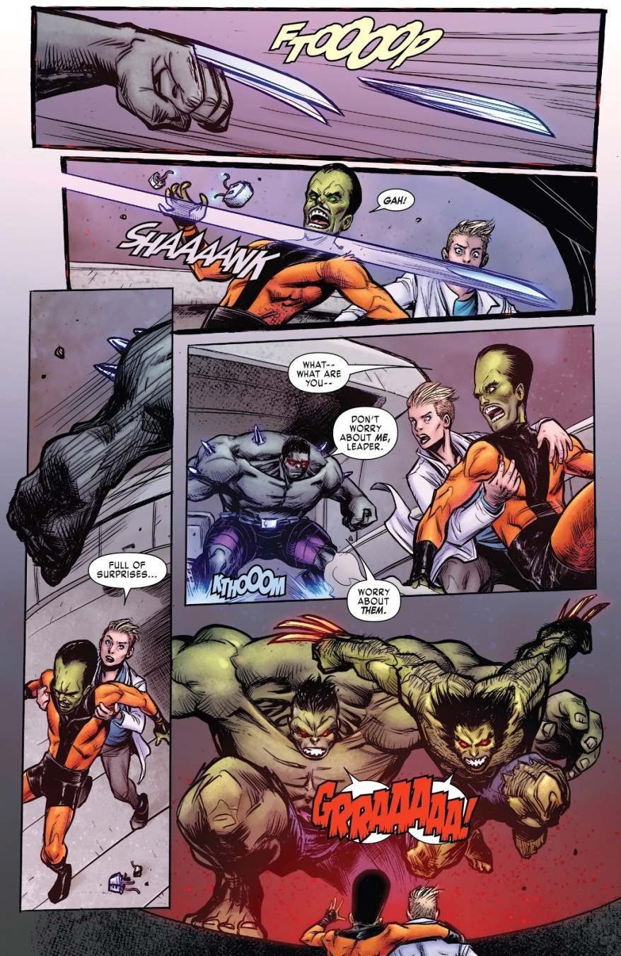 Hulkverine VS Wolverine And The Hulk