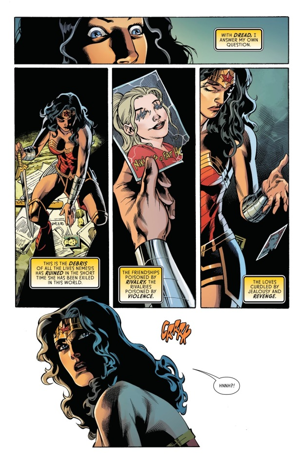 Nemesis Poisons Wonder Woman (Rebirth)